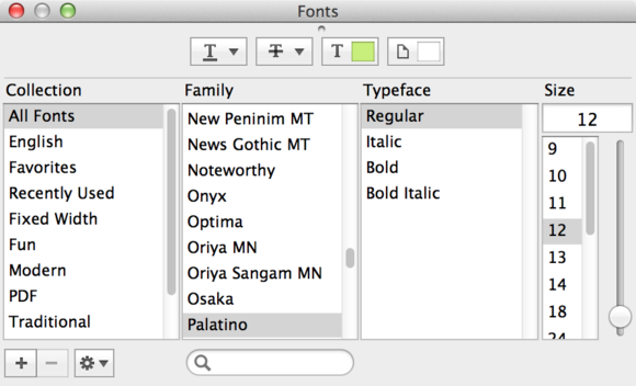font-panel-mavericks